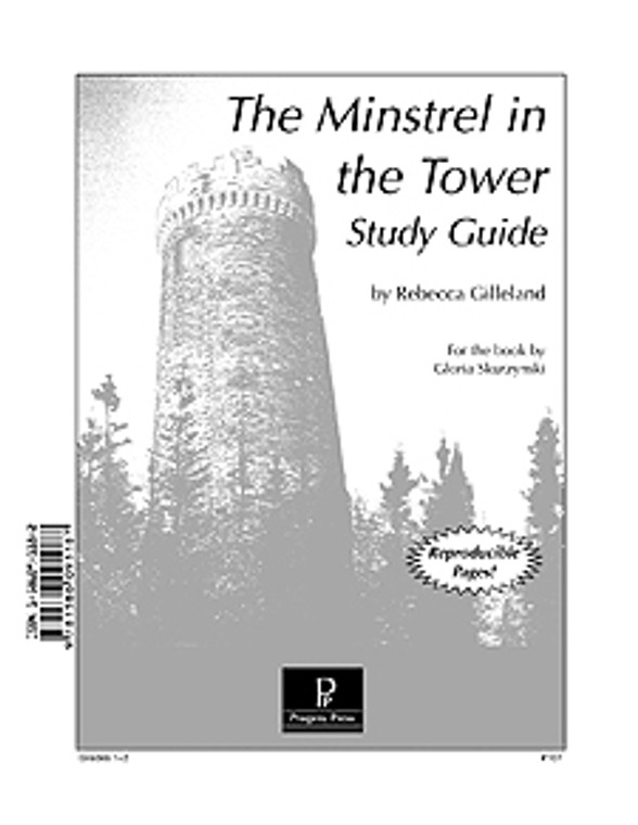 Minstrel in the Tower Progeny Press unit study guide lesson plans for literature and reading from a Christian worldview with Biblical integration