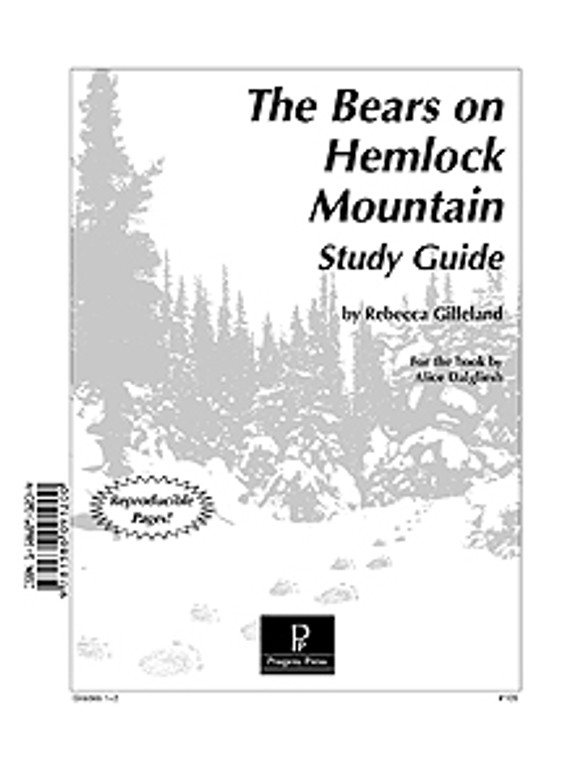 The Bears on Hemlock Mountain Progeny Press unit study guide lesson plans for literature and reading from a Christian worldview with Biblical integration
