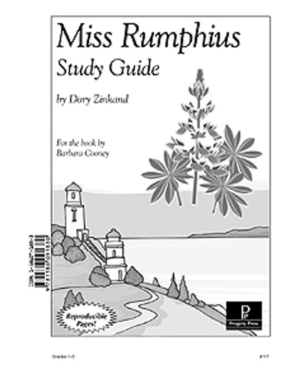 Miss Rumphius Progeny Press unit study guide lesson plans for literature and reading from a Christian worldview with Biblical integration