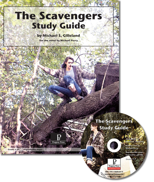 The Scavengers Literature unit study guide from a Christian perspective