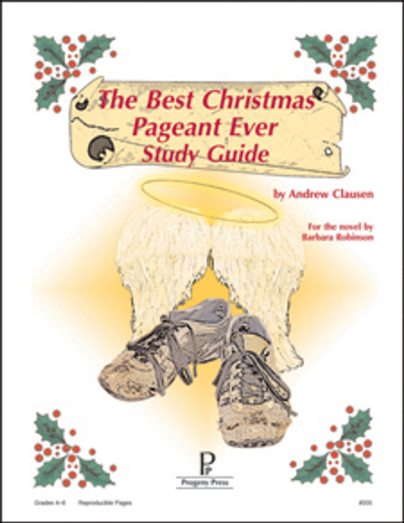 Best Christmas Pageant Ever Progeny Press unit study guide lesson plans for literature and reading from a Christian worldview with Biblical integration