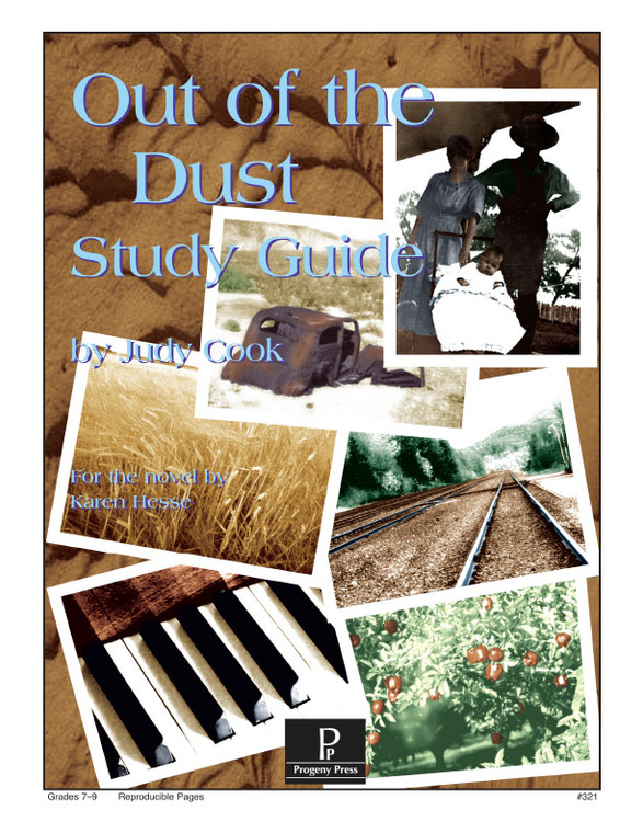 Out of the Dust Progeny Press unit study guide lesson plans for literature and reading from a Christian worldview with Biblical integration