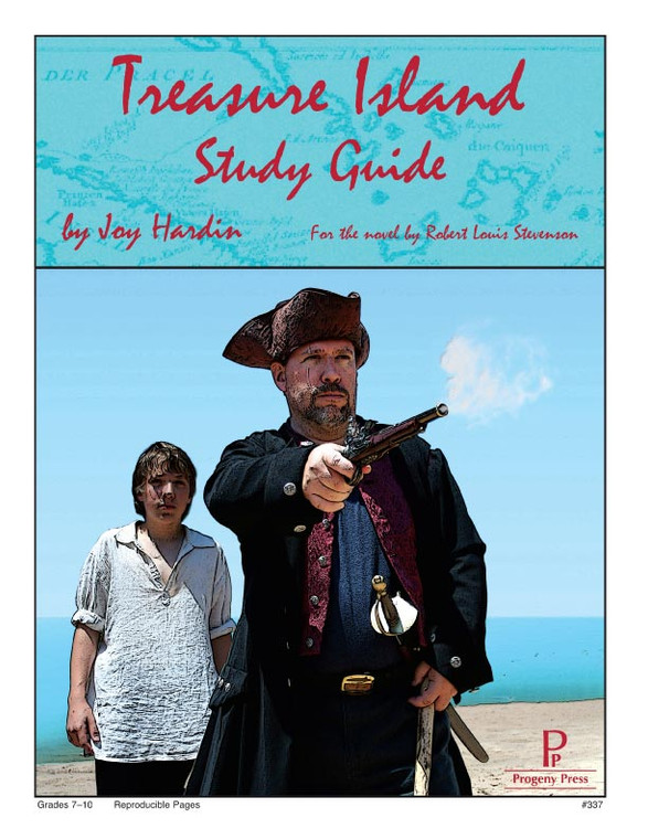 Treasure Island  Progeny Press unit study guide lesson plans for literature and reading from a Christian worldview with Biblical integration