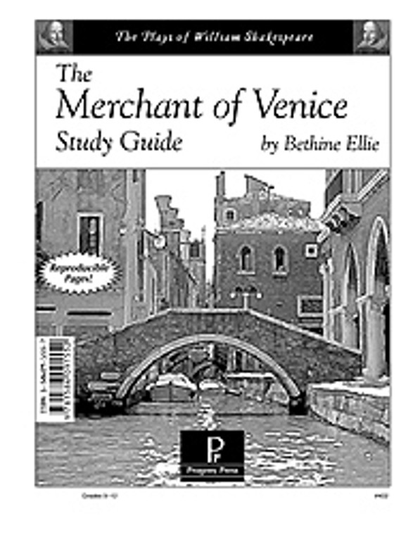 Merchant of Venice Study Guide - Progeny Press