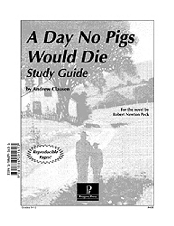 A Day No Pigs Would Die *OLD FORMAT or DAMAGED*