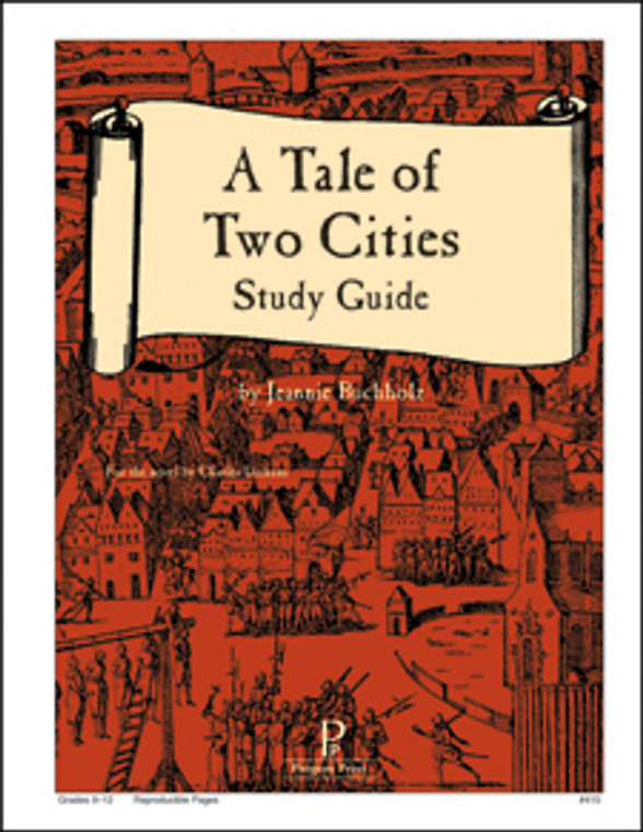 Tale of Two Cities Guide unit studyguide lesson plans for literature and reading from a Christian worldview with Biblical integration. Teacher resource curriculum, hands on ideas, projects, worksheets, comprehension questions, and activities.