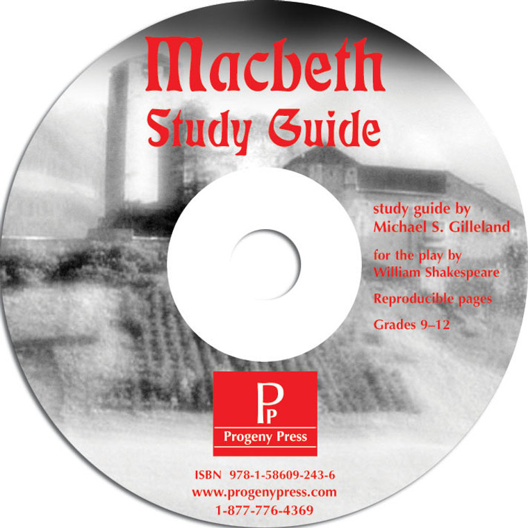 Macbeth Guide unit studyguide lesson plans for literature and reading from a Christian worldview with Biblical integration. Teacher resource curriculum, hands on ideas, projects, worksheets, comprehension questions, and activities, pdf