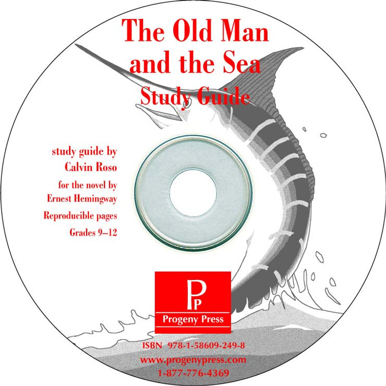 *Print Only CD* The Old Man and the Sea Study Guide unit studyguide lesson plans for literature and reading from a Christian worldview with Biblical integration. Teacher resource curriculum, hands on ideas, projects, worksheets, comprehension questions, and activities.