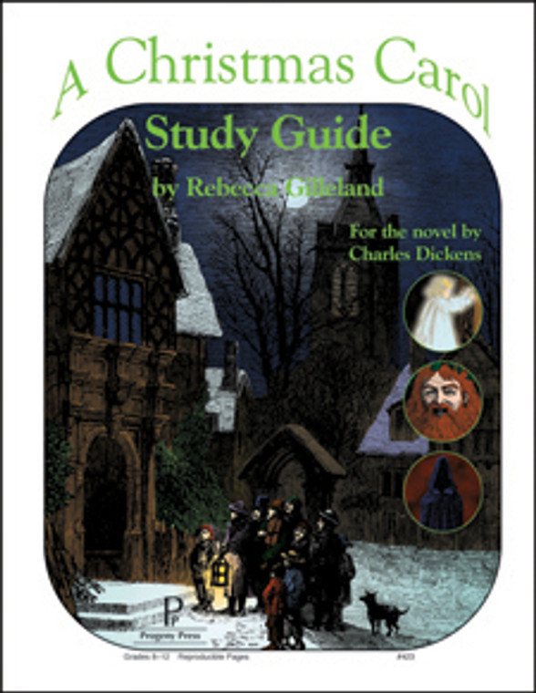 A Christmas Carol Study Guide unit studyguide lesson plans for literature and reading from a Christian worldview with Biblical integration. Teacher resource curriculum, hands on ideas, projects, worksheets, comprehension questions, and activities.