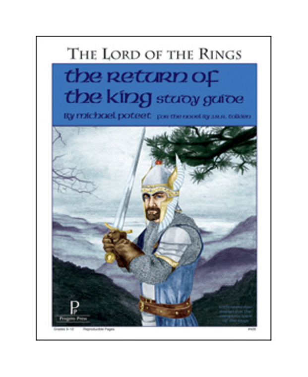 Return of the King Study Guide unit studyguide lesson plans for literature and reading from a Christian worldview with Biblical integration. Teacher resource curriculum, hands on ideas, projects, worksheets, comprehension questions, and activities.