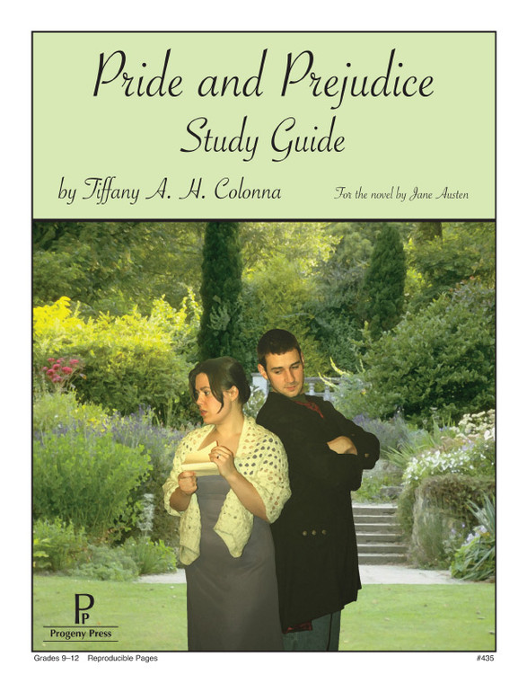 Pride and Prejudice Progeny Press unit study guide lesson plans for literature and reading from a Christian worldview with Biblical integration