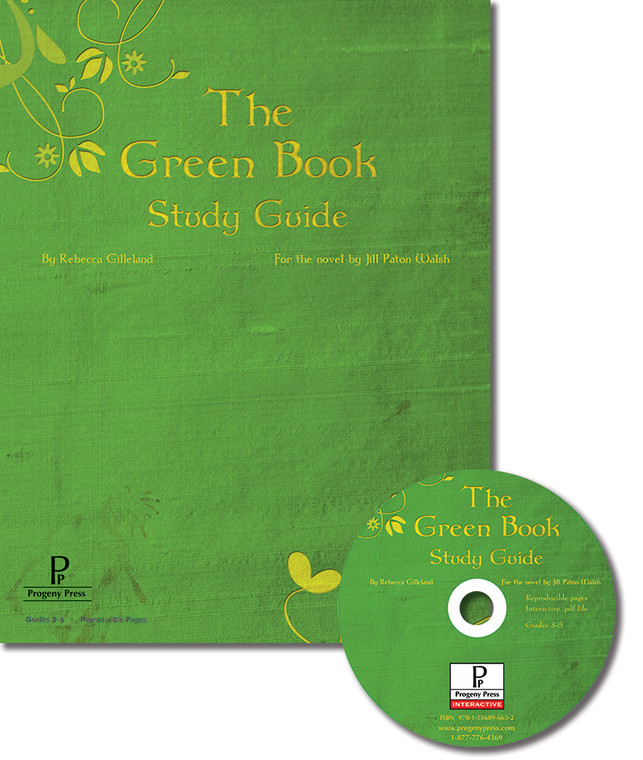 The Green Book by Jill Paton Walsh, unit study guide lesson plans for literature and reading from a Christian worldview with Biblical integration. Teacher resource curriculum, hands on ideas, projects, worksheets, comprehension questions, and activities.