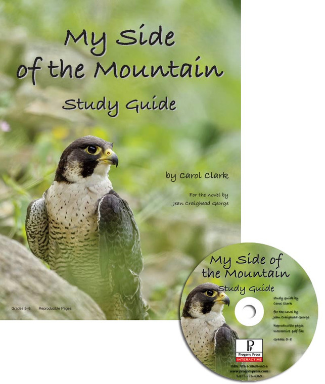 My Side of the Mountain by Jean Craighead George, unit study guide lesson plans for literature and reading from a Christian worldview with Biblical integration. Teacher resource curriculum, hands on ideas, projects, worksheets, comprehension questions, and activities.