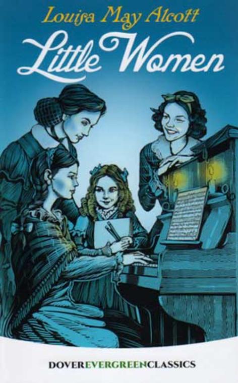Little Women by Louisa May Alcott, novel book Dover Publications
