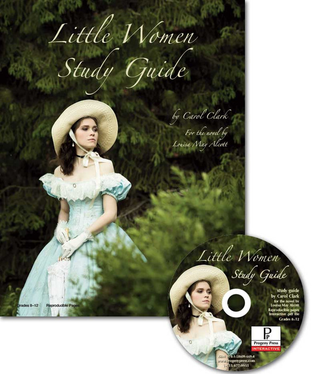 Little Women by Louisa May Alcott unit study guide lesson plans for literature and reading from a Christian worldview with Biblical integration. Teacher resource curriculum, hands on ideas, projects, worksheets, comprehension questions, and activities.