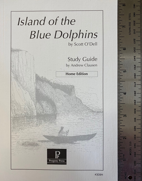 Island of the Blue Dolphin Progeny Press unit study guide lesson plans for literature and reading from a Christian worldview with Biblical integration