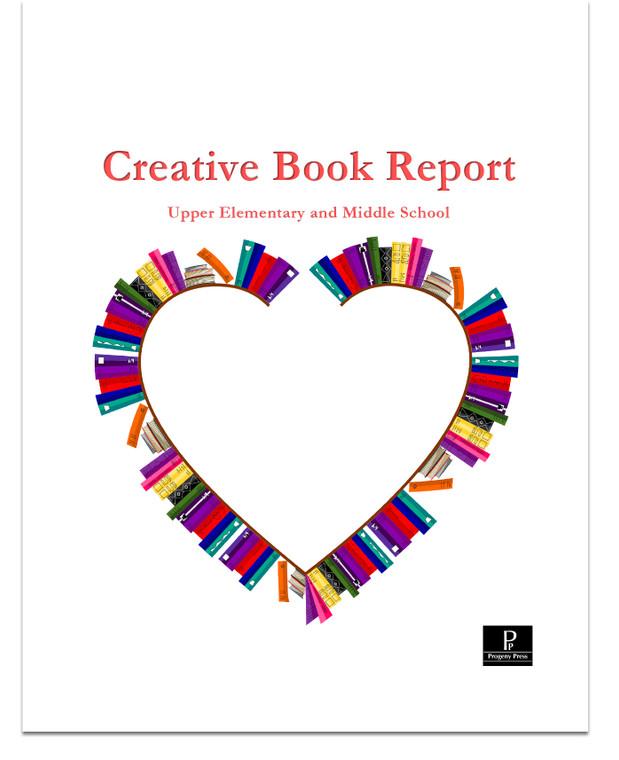 Book report eBook pdf Grades 4-8