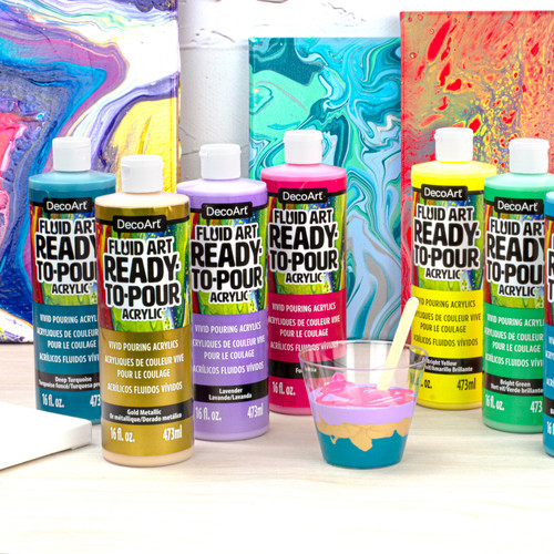 Fluid Art Ready to Pour Acrylics