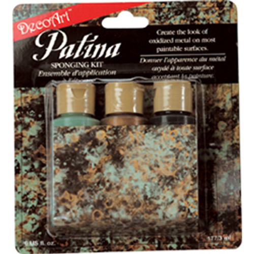 Green Patina Sponging Kit
