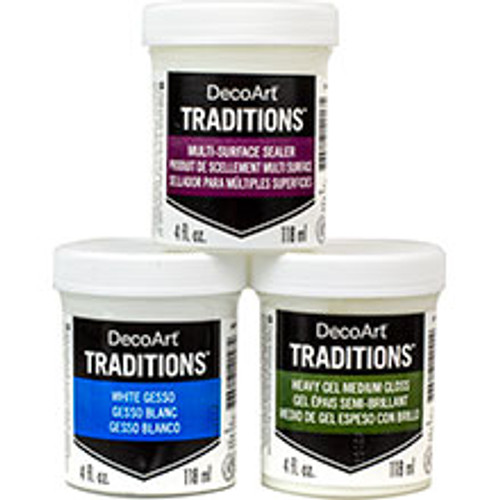 DecoArt Traditions Mediums & Specialty Clearance