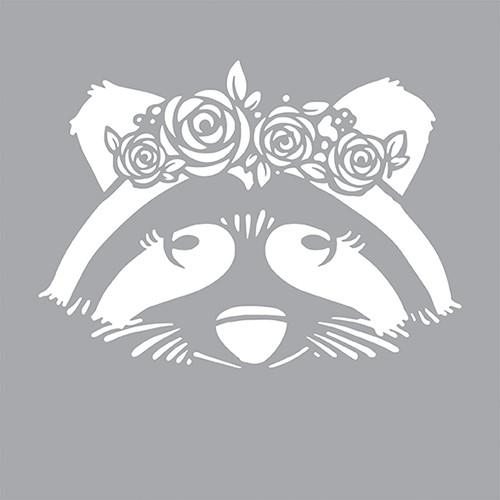 DFS112-K Chic Raccoon
