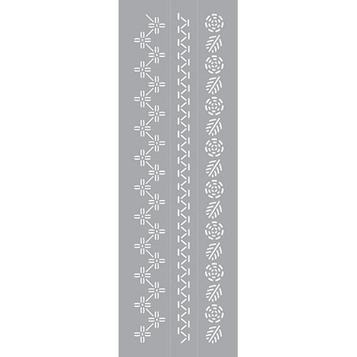 DFS405-K Embroidered Floral