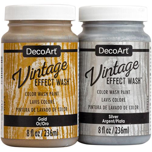 Americana Decor Vintage Effect Wash Metallics