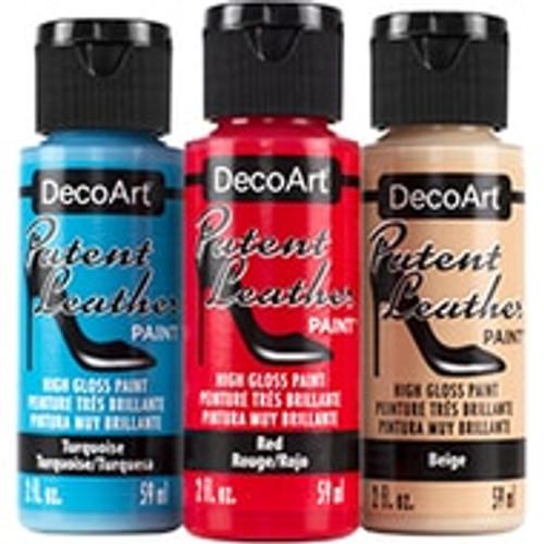 DecoArt Patent Leather Metallics