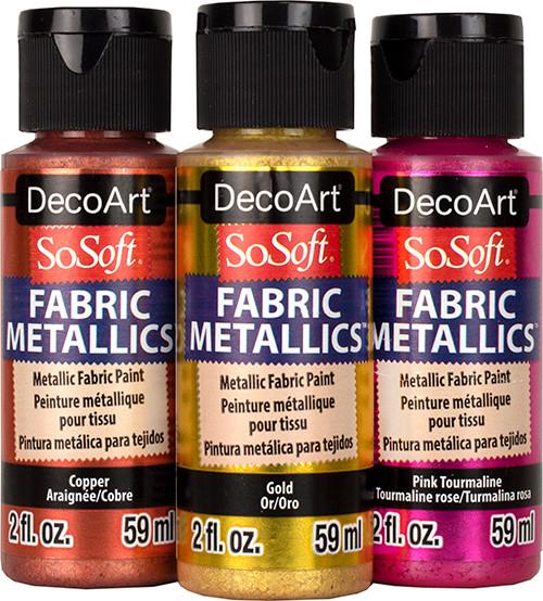 DecoArt SoSoft Metallics