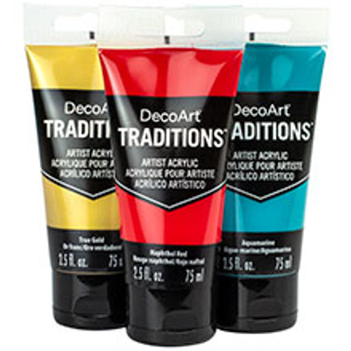 DecoArt Traditions Acrylics Metallics