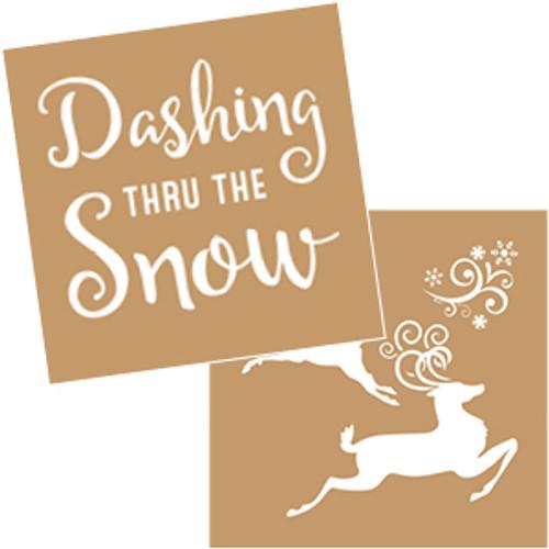 Dashing Snow