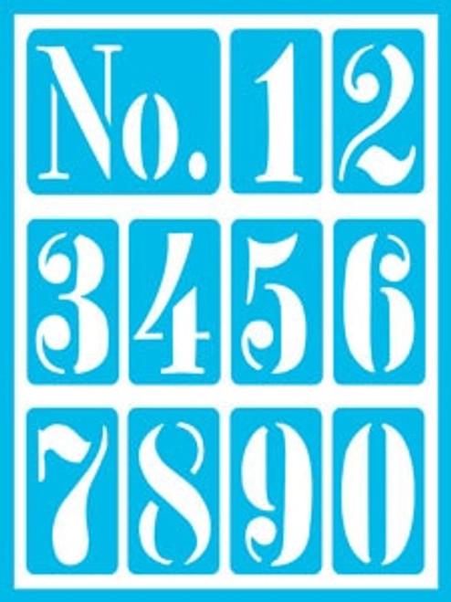 DCPS09-K Vintage Numbers 2