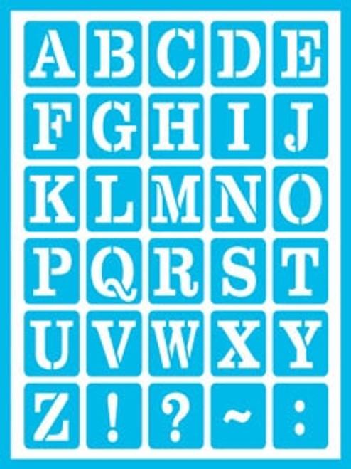 DCPS11-K Everyday Alphabet