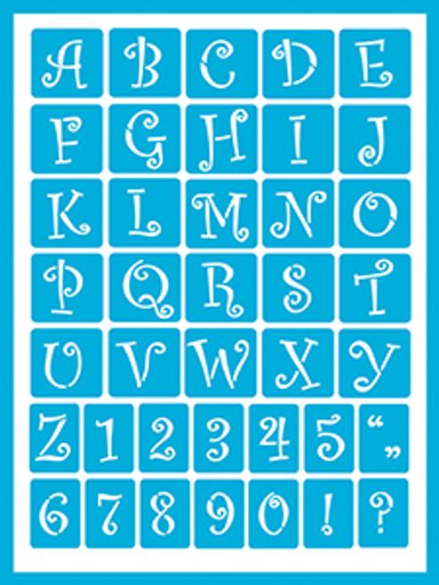 Curly Alphabet 2