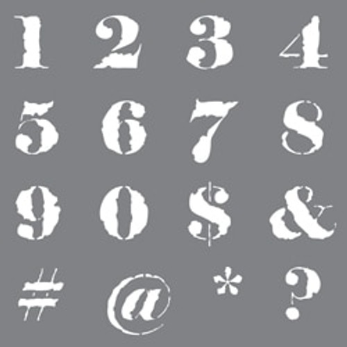 Distressed Numbers