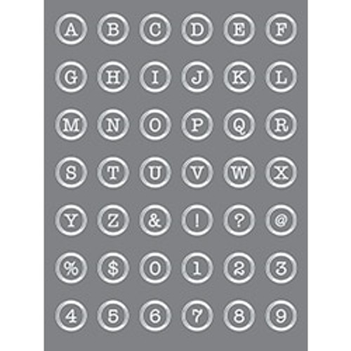 Button Alphabet