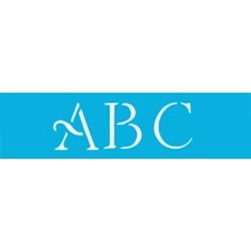 Simple Script Alphabet