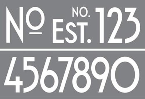 ArtDeco Numbers