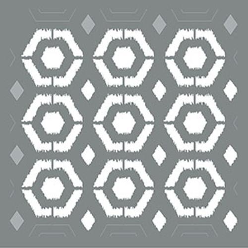 Ikat Hexagon