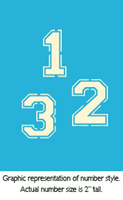 """2"""" Varsity Numbers"""