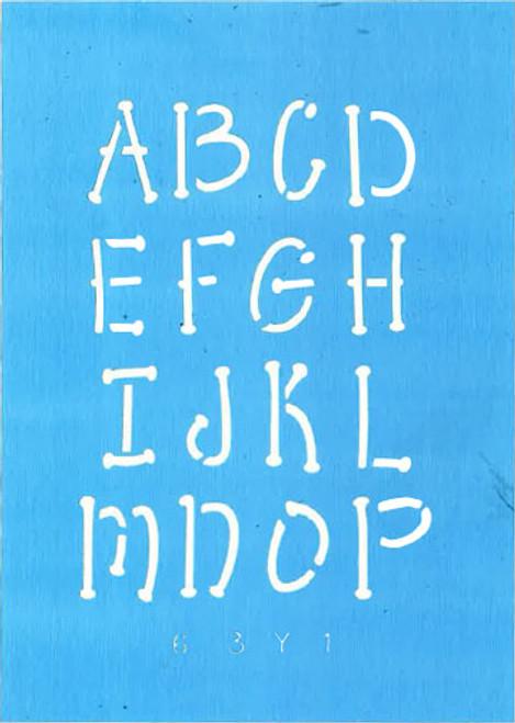 """1"""" Whimsical Letter Set"""
