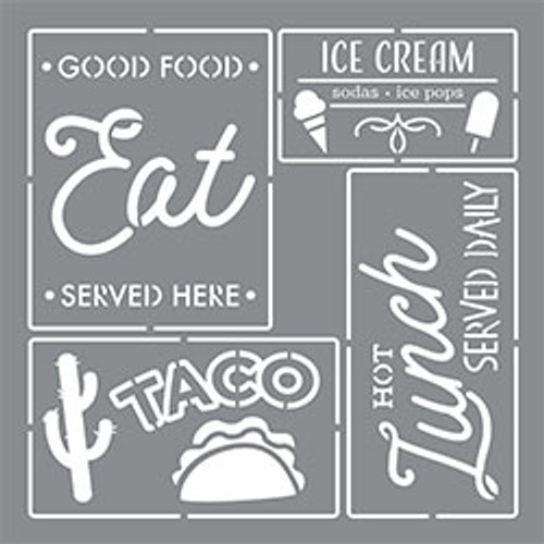 Food Truck Signs