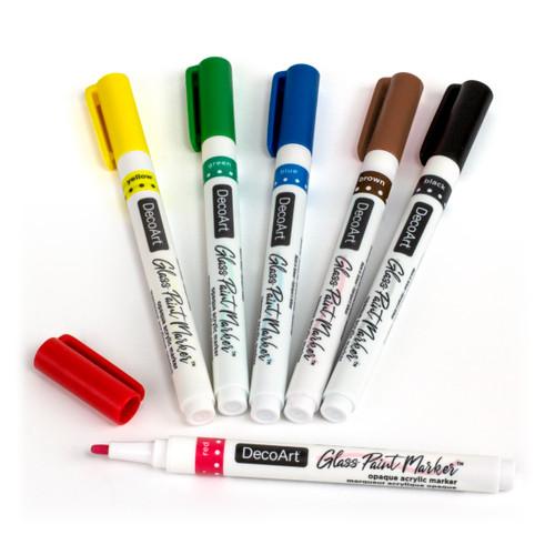 DGPMK70-K  Glass Paint Marker Sets