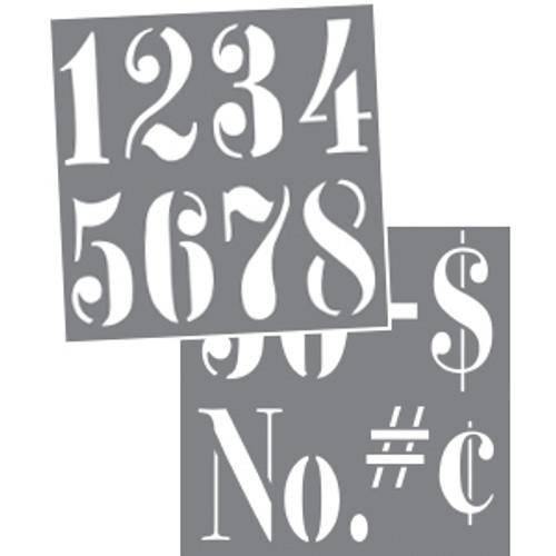 Vintage Numbers 3
