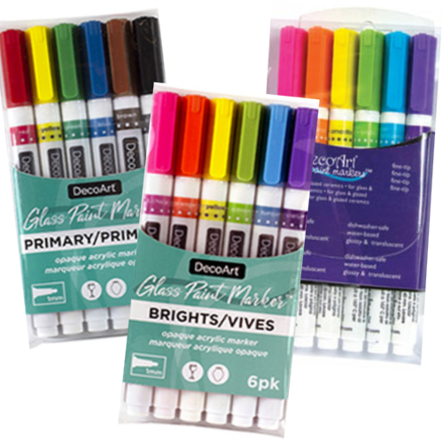 Glass Paint Marker Sets Product Image