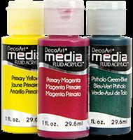 DecoArt Media Fluid Acrylics Product Image