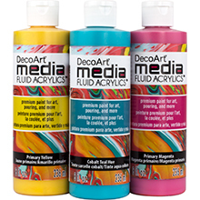 DecoArt Media Fluid Acrylics 8oz Product Image