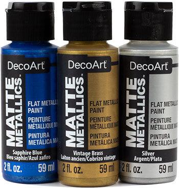 DecoArt Matte Metallics Product Image