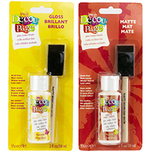 Americana Decou-Page Glue and Brush Set Product Image