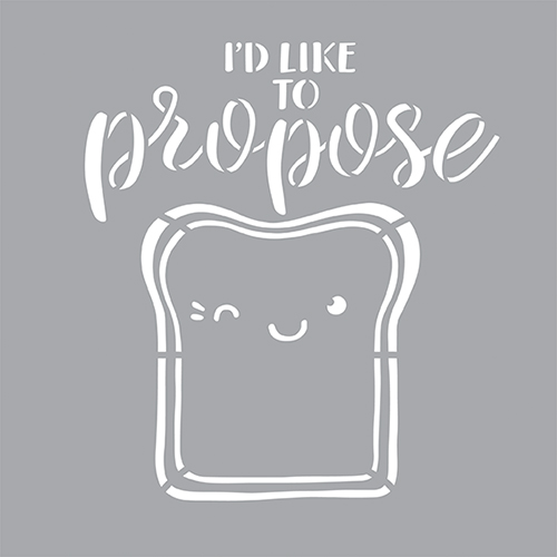 Propose a Toast Product Image